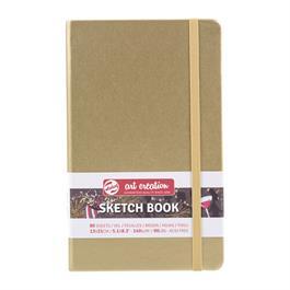 Sketchbook13x21cm White Gold thumbnail