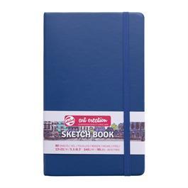 Sketchbook 13x21cm Navy Blue thumbnail