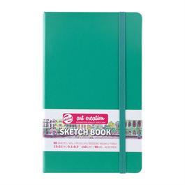 Sketchbook 13x21cm Forest Green thumbnail