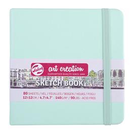 Sketchbook 12X12cm Fresh Mint thumbnail