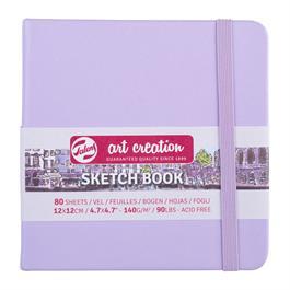 Sketchbook 12x12cm Pastel Violet thumbnail