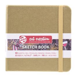 Sketchbook 12x12cm White Gold thumbnail