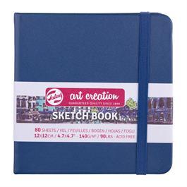 Sketchbook 12x12cm Navy Blue thumbnail