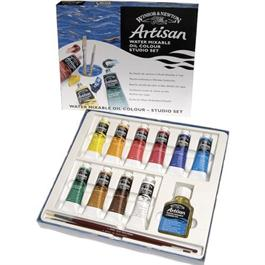 Artisan Water Mixable Oil Paint Studio Set 10 x 37ml thumbnail