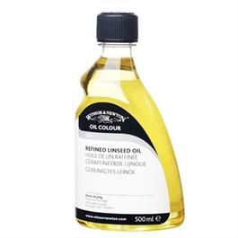 Winsor & Newton Refined Linseed Oil 500ml thumbnail