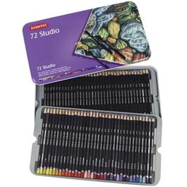 Derwent Studio Pencils Tin of 72 Thumbnail Image 1