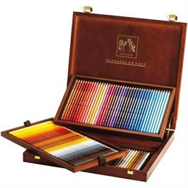 Caran D'ache Wooden Box Of 120 Supracolor Pencils thumbnail