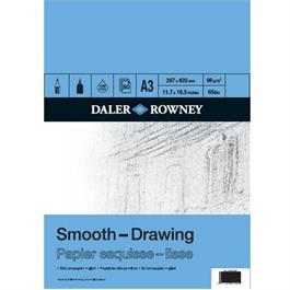 Daler Rowney A3 Smooth Drawing Pad 96gsm thumbnail
