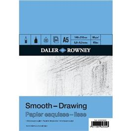 Daler Rowney A5 Smooth Drawing Pad 96gsm thumbnail