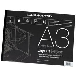 Daler Rowney 45gsm Layout Pads Thumbnail Image 1