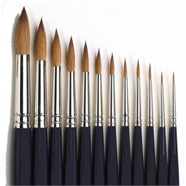 Winsor & Newton Artists' Water Colour Sable Brush - Round thumbnail