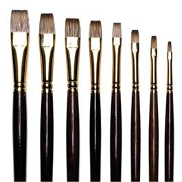 Winsor & Newton Monarch Brushes - Flat Thumbnail Image 0