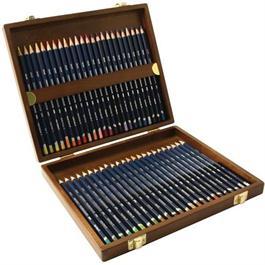 Derwent Watercolour Wooden Box of 48 thumbnail