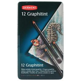 Derwent Graphitint Pencils Tin of 12 thumbnail