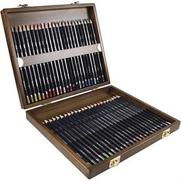 Derwent Studio Pencils Wooden Box of 48 thumbnail