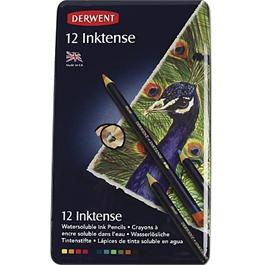 Derwent Inktense Pencils Tin of 12 thumbnail
