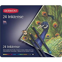 Derwent Inktense Pencils Tin of 24 thumbnail