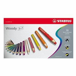 STABILO Woody Pencils Pack of 18 thumbnail