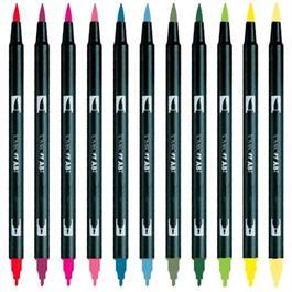 Tombow ABT Dual Brush Pen Single Colours Thumbnail Image 1