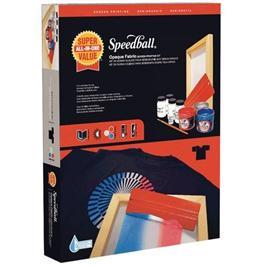 Speedball Super Value Opaque Fabric Screen Printing Kit thumbnail