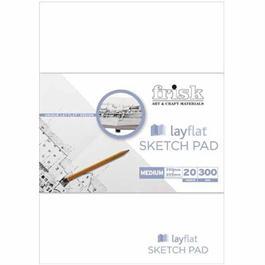 A4 Frisk Layflat Sketch Pad thumbnail