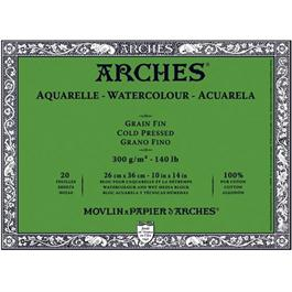 Arches Aquarelle Water Colour Blocks Cold Pressed140lbs / 300gsm  Thumbnail Image 0