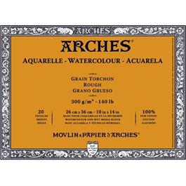 Arches Aquarelle Water Colour Blocks Rough 140lbs / 300gsm  Thumbnail Image 0