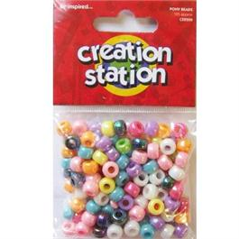Creation Station Coloured Pony Beads thumbnail