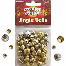 Creation Station Silver & Gold Jingle Bells Thumbnail Image 0