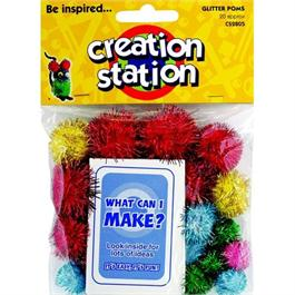 Creation Station Glitter Poms thumbnail