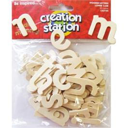 Creation Station Lower Case Wooden Letters thumbnail