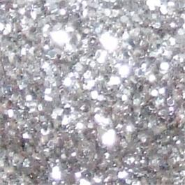 Glitter Shaker Jar Silver 250g thumbnail