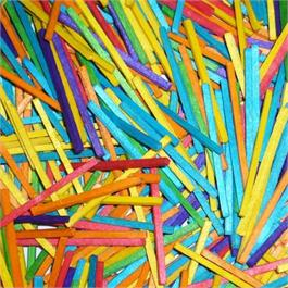 Pack Of Coloured Matchsticks thumbnail