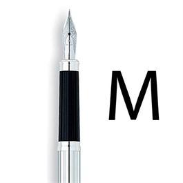 Century II Lustrous Chrome Fountain Pen With MEDIUM Nib thumbnail