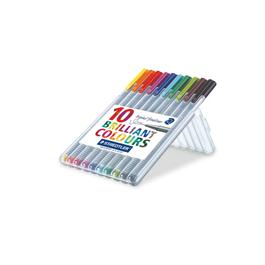 Staedtler Triplus Fineliner Box Of 10 Pens