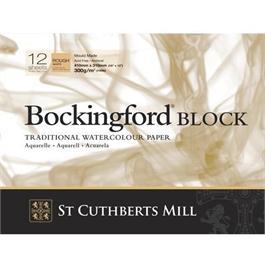Bockingford Watercolour Blocks 140lbs / 300gsm 'Rough' thumbnail