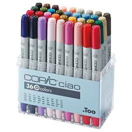 Copic Ciao Marker Set of 36 - Set D thumbnail