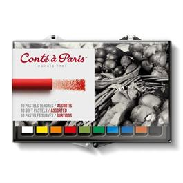 Conte Soft Pastels Assorted Set of 10 thumbnail