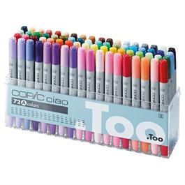 Copic Ciao Marker Set of 72 - Set A thumbnail