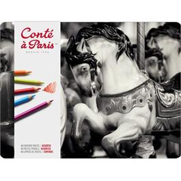 Conte Pastel Pencils Tin Of 48 thumbnail
