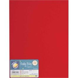 "Funky Foam Sheet 9x12"" Red thumbnail"