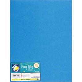 "Funky Foam Sheet 9x12"" Blue thumbnail"
