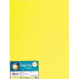 """Funky Foam Sheet 9x12"""" Yellow thumbnail"""