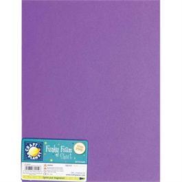 """Funky Foam Sheet 9x12"""" Purple thumbnail"""