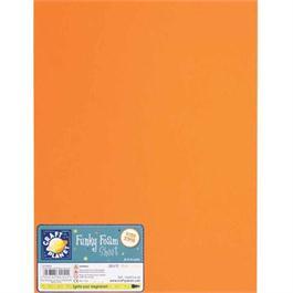 "Funky Foam Sheet 9x12"" Orange thumbnail"