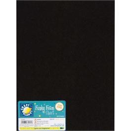 "Funky Foam Sheet 9x12"" Black thumbnail"