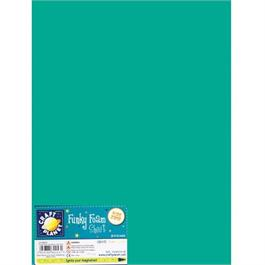 "Funky Foam Sheet 9x12"" Turquoise thumbnail"