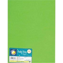 """Funky Foam Sheet 9x12"""" Lime thumbnail"""