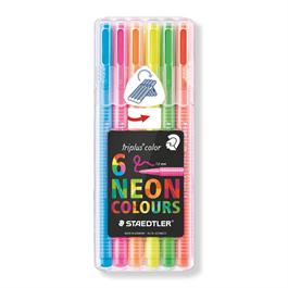 Staedtler Triplus Colour Neon Set of 6 thumbnail