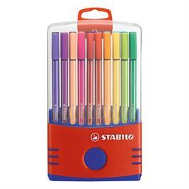 STABILO Pen 68 ColorParade 20 Fibre Tipped Pens